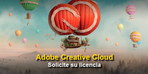 Solicitud de Licencias de Adobe Creative Cloud